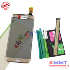 Original Gold LCD Touch Screen + Tools for Samsung Galaxy S7 Edge G935FD ZVLU351