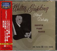 WALTER GIESEKING -DEBUSSY: SUITE BERGAMASQUE. ARABESQUE NO.1 & 2-JAPAN CD C68