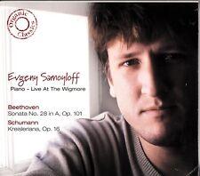 Evgeny Samoyloff -Piano Live at the Wigmore CD-NEW-Beethoven Sonata 28 /Schumann