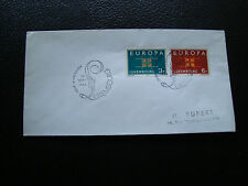 LUXEMBOURG - enveloppe 1er jour 16/9/1963 (europa) (cy71)