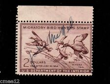 #RW20 Blue Winged Teal - MNH Signed (Full gum)