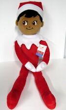 The ELF on the Shelf Boy Plushee Pals Huggable Brown Skin Doll 27 in New Tags