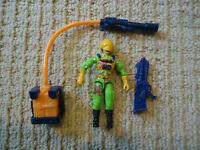 Vintage GI Joe Flint (V3) 1991 Action Figure Hasbro Eco Warrior COMPLETE