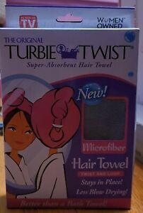 Brand New The Original Turbie Twist Super Absorbent Hair Towel Microfiber