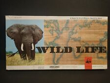 Wild Life Board Game Spears Games 1970s Edition WWF VINTAGE VGC