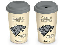 Game of Thrones (House Stark) Travel Mug MGT22867 - 12oz/340ml