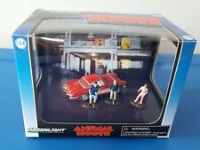 '11 GREENLIGHT ANIMAL HOUSE DIORAMA 1959 CHEVY CORVETTE W/ 3 FIGURES 1:64 SCALE