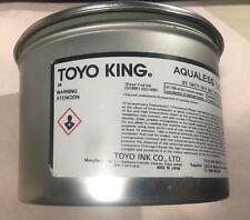 TOYO Aqualess Ultra Black Offset & Letterpress Sheet Fed Ink 1kg-2.2lb