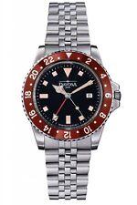 Davosa Ternos Vintage Diver GMT, Quartz, 39mm, Swiss steel