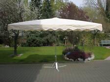 3 x 4 m Profimarktschirm Marktschirm Marktstand Umbrella Schirm inkl. 20kg Fuß