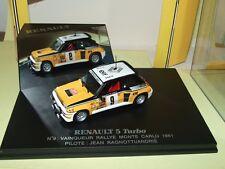 RENAULT 5 TURBO RALLYE MONTE CARLO 1981 J. RAGNOTTI UNIVERSAL HOBBIES