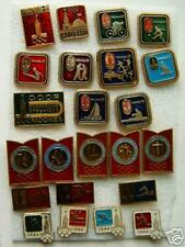 OLYMPICS sport pin USSR MOSCOW 1980 RARE Set - 23 pc