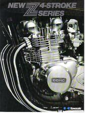 Kawasaki Z  4-Stroke Series Sales Brochure, Original NOS