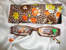 Reading Glasses-Flower Garden Yellow & Orange 1.50