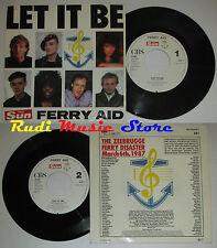 LP 45 7'' THE SUN FERRY AID Lei it be 1987 holland CBS BEATLES LENNON cd mc dvd*