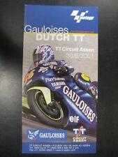 Flyer Dutch TT Assen 30 juni 2001