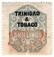 (I.B) Trinidad & Tobago Revenue : Duty Stamp 6/-