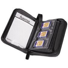Box/Custodia/Astuccio Porta Schede SD Hama Memory Card Wallet 18 schede 95983
