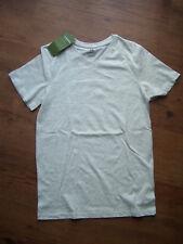 Shirt von H&M, Größe 146/152, hellgrau, organic cotton, NEU!