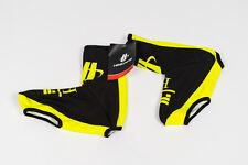 New 2017 Men's Hincapie Racing Team Roubaix Thermal Shoe Covers, Black, Small