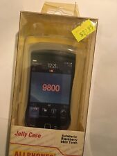 BlackBerry 9800 Torch TPU Jelly Case JCBB9800C-A in Clear Brand New in packaging