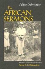 Albert Schweitzer's African Sermons (Hardback or Cased Book)