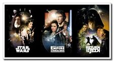 "Hot Sale Star Wars Wall Decoration 24""x12"" Silk Poster Art Print Free Shipping"
