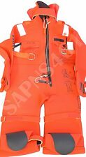 UNITOR -AQUATA : ARO V40-165  *SOLAS IMMERSION SUIT with Head Pillow 175 cm * 05