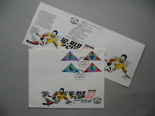 KENYA, cover FDC 1982, WC soccer Football Spain, triangle stamps