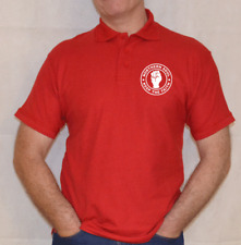 NORTHERN SOUL ,POLO SHIRT ,KEEP THE FAITH,MUSIC,WHITE,RED,BLACK,NAVY