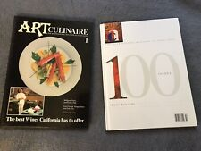 LOT OF 100 ART CULINAIRE BOOKS CULINARY HARDCOVER #1-#100 CONSECUTIVE