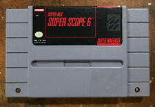 Super Scope 6 SNES Game (cleaned, polished)