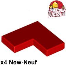 Lego 80 Marron Angle Plaques coin 2x2 Neuf Reddish Brown Corner plates 2420
