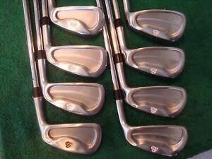 SCRATCH GOLF Forged 1018 Golf Iron Set S300 STIFF Steel 3-PW