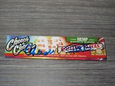 Cheech & Chong SIGNED Hemp Rolling Papers 50 Extra Long and JSA COA marin tommy