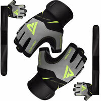 RDX Weight lifting Gloves Fitness Training Gym Workout Bodybuilding Cycling Yoga