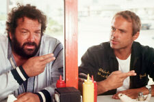 BUD SPENCER & TERENCE HILL RARE COLOR 24X36 POSTER