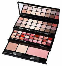 60 PIECES MAKE UP COSMETIC PALETTE EYE SHADOW BLUSHER LIP GLOSS APPLICATOR