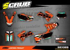 KTM Dekor EXC 125 200 250 300 400 450 525 2005 2006 2007 '05 '06 '07 SCRUB