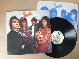 Smokie – Bright Lights And Back Alleys  GERMANY  ois  LP  Vinyl   vg+
