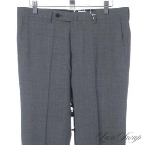 NWT #1 MENSWEAR Ring Jacket Made in Japan Grey Ice Twist Wool Silk Pants 46 #119