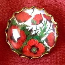 Handmade Glass Alloy Costume Brooches & Pins