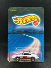 Unpunched Hot Wheels Blackwall P-911 TURBO White #3969 NEW ON CARD BLISTER