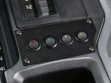 Jeep Cherokee 84-96 12 Volt 20 Amp - Low Profile 4 LED Rocker Switch Panel B/O