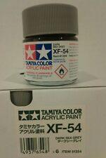 Tamiya acrylic paint XF-54 Dark sea Grey 23ml.