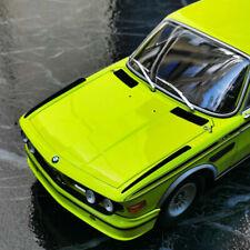 ########Minichamps 1/18 BMW 3.0 CSL 1973 E9 - Green/Yellow Limited 504 #########