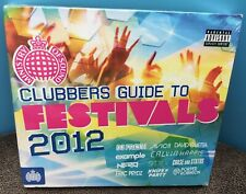 Ministry Of Sound  Clubbers Guide To Festivals 2012  3 CD Set  New & Sealed