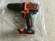 BLACK+DECKER 18V Li-Ion Hammer Drill BCD700S Bare Drill Only New Free UK P&P (2)
