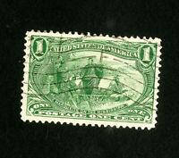 US Stamps # 285 Jumbo Used