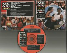 MC NAS D & DJ FREAKY FRED Gold Diggin Girls/ Hoes MIXES& INSTRUMENTAL CD  Single
